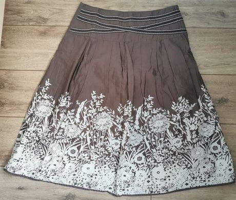 Lekka bawełniana spódnica George 42 boho