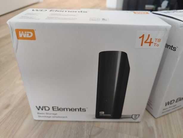 WD Elements HDD 14TB Внешний жесткий диск CHIA External Hard Drive