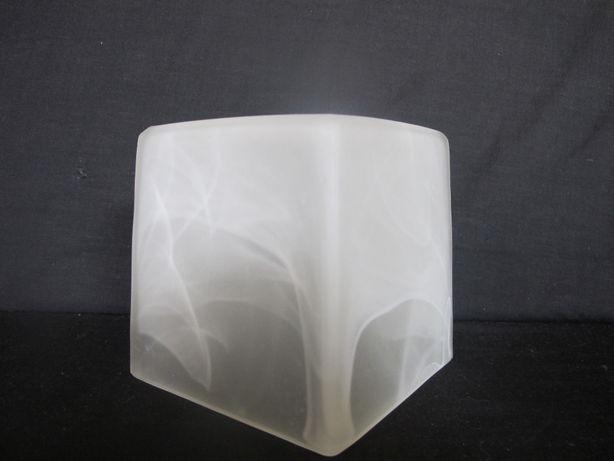 Klosz szklany duża kostka _MURANO_E 27