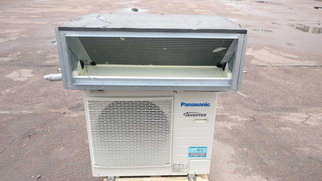 Кондиционер инвертор канальный полупром Panasonic34 бу до 115м2 монтаж