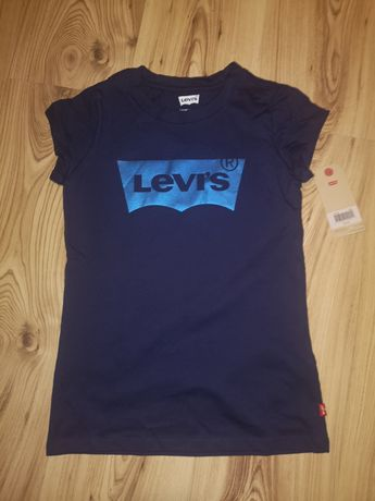 Levi's nowy tshirt dla dziewczynki 140 /152