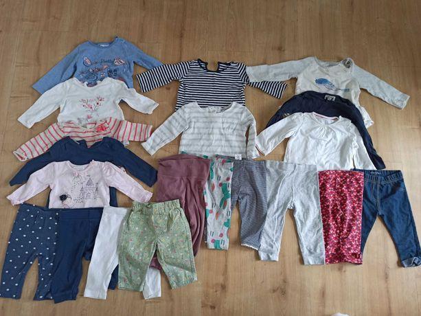 Bluzeczki, geterki, od 62 do 80 łącznie 20 sztuk