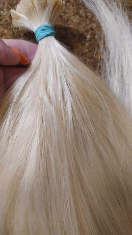 Натуральные южно-русские волосы блонд