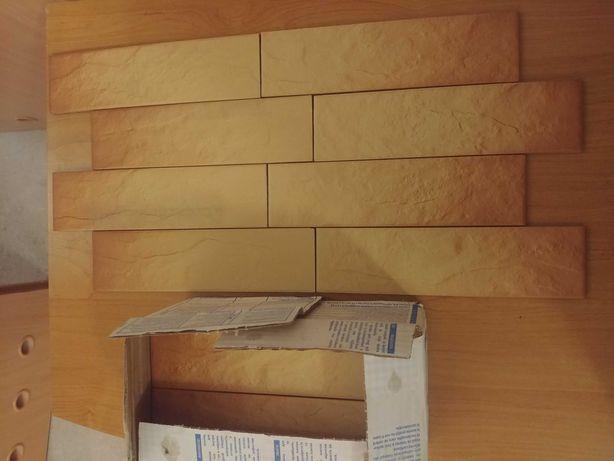 Płytki do obicia murku, komina, ścianki. 3m2 Mrozoodporne