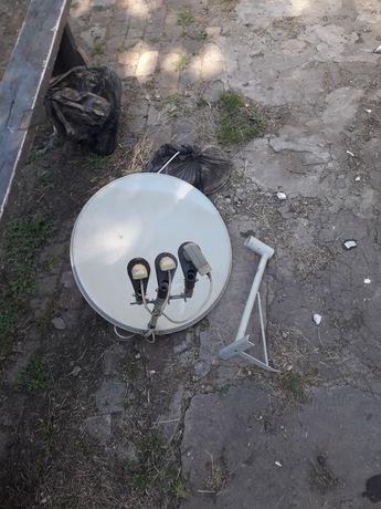 Продам или обменяю спутниковую тарелку с полным комплектом!