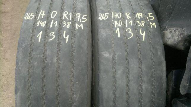 Opony Continental 265/70 R 19,5 Przód / Naczepa