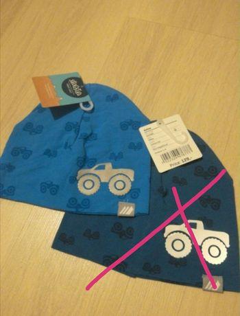 Bawełniana czapeczka chłopięca r 48