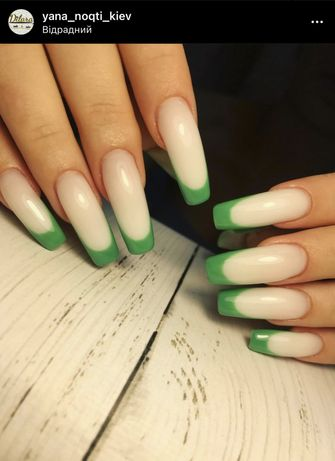 Наращивпние и покрытие ногтков на Отрадном