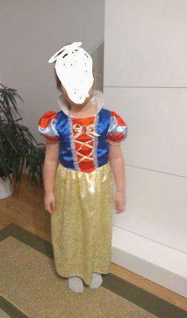 Sukienka karnawałowa strój przebranie kostium Królowa Śnieżka