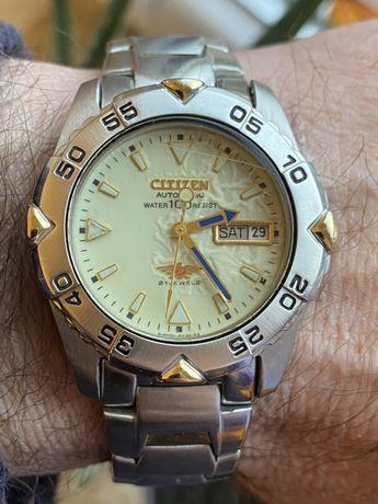 Citizen n-8200 automat eagle day date wr100 diver luma