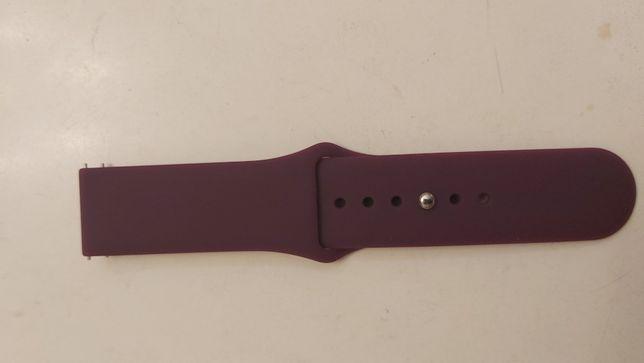 Ремешок силиконовый для часов 22 мм