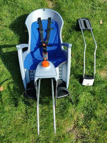 Fotelik rowerowy HAMAX z funkcją leżenia Fabryczna