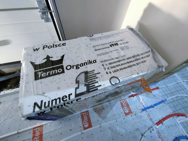 Styropian Termo Organika Silver Dach - Podłoga 5cm