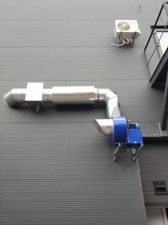 Монтаж систем вентиляции и кондиционирования.