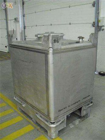 Tanque / Contentor TEKA (Em aço inox com certificaçao UN (TKIFII 1000)