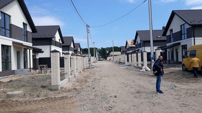 Гатне новый дом 173кв.м в новом коттеджном городке