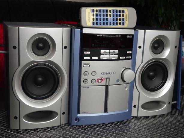 Mini Wieża - KENWOOD +Pilot - Kaseta CD Radio AUX