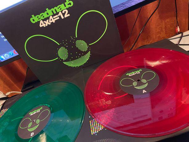 Deadmau5 – 4x4=12 (LP, Red + LP, Gre + Album)  vinyl/винил