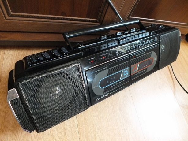 RadioOdtwarzacz SuperTech Radio+Kaseta Piękny stan!