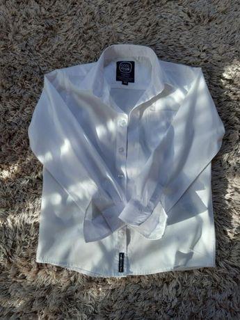 Koszula biała rozm. 140