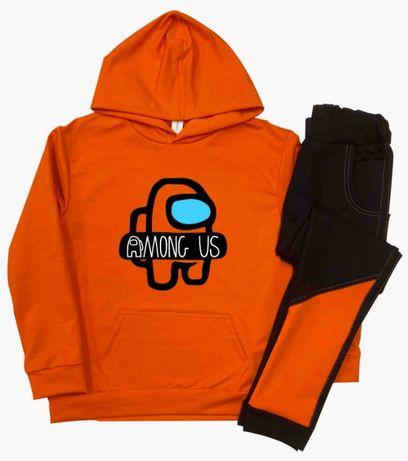 Спортивный костюм Among Us худи Амонг Ас для мальчика для девочки