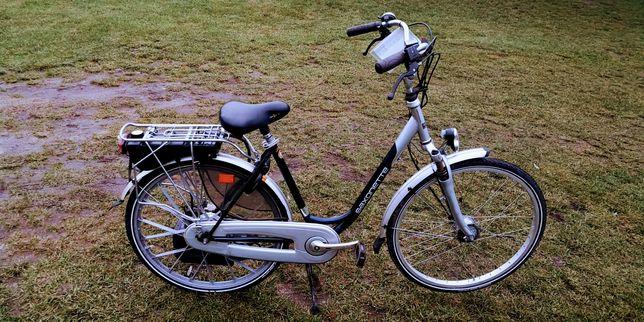 Rower Saxonette Luxus z silnikiem spalinowym Sachsa E-Start 2011 r