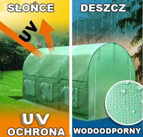MOCNY Tunel foliowy 2,5x4 10m2 ogrodowy Szklarnia namiot na warzywa