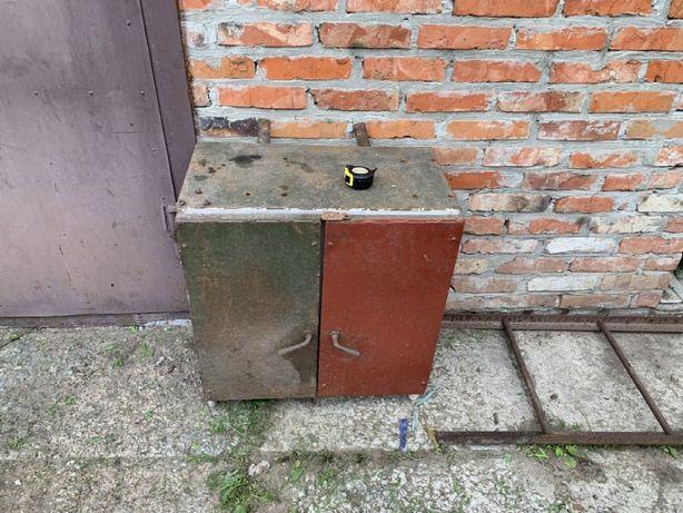 Ящик Шкаф для инструмента ( металлический )