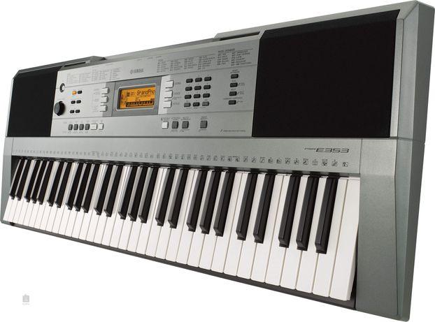 Keyboard klawisze Yamaha PSR-E353 + stojak