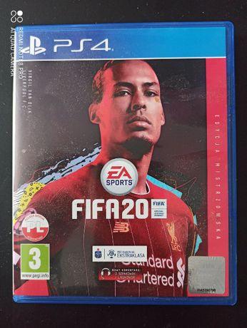 PS4 FIFA2020 edycja misrzowska
