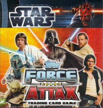 Seria kart Star Wars Force Attax movie seria 1