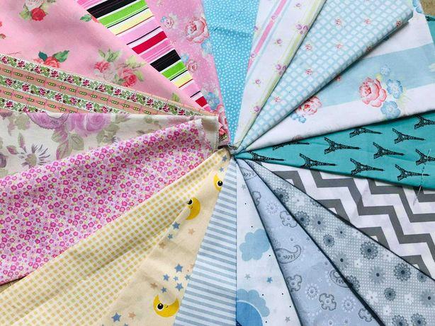 Kit tecidos coloridos