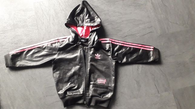 Bluza sportowa adidas-czarna r.92