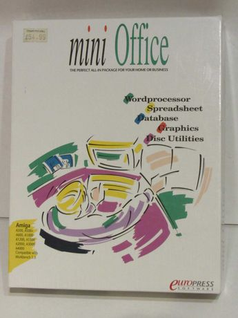 Mini Office para Commodore Amiga testado