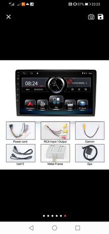 Rádio TOP 2 din com GPS