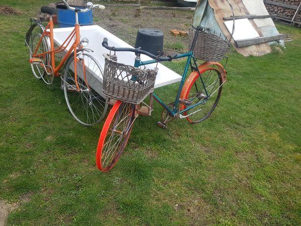 Wesołe rowery do ogrodu !!