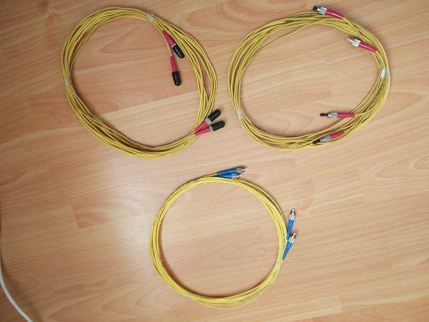Продам оптичні патчкорди FC-FC 5м.