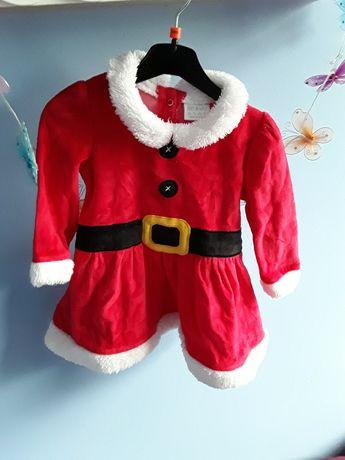 Sukienka  świąteczna 74