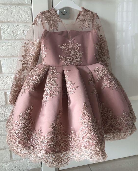 Платье детское 110-116 Подгородное - изображение 1