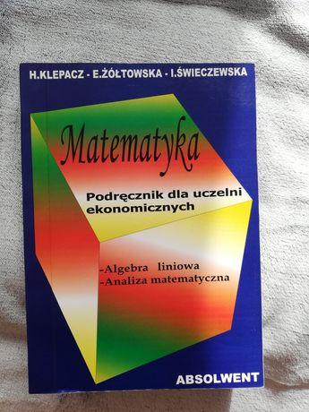matematyka podręcznik dla uczelni ekonomicznych