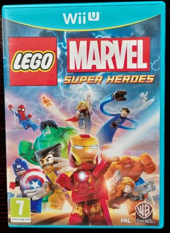 Lego Marvel Super Heroes Wii U (COMO NOVO)