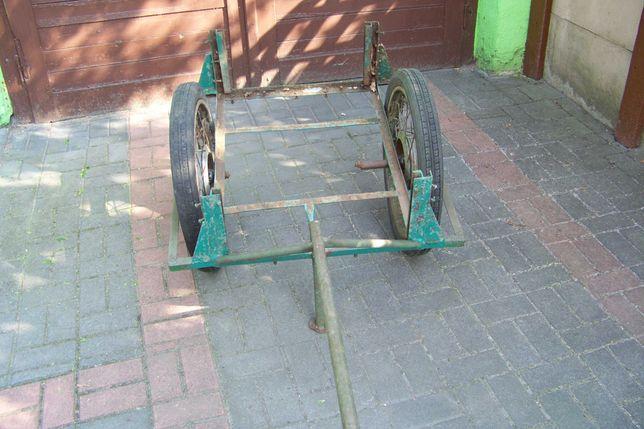 wózek ogrodowy na kołach