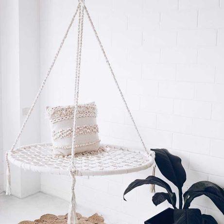Huśtawka Dla Dzieci Fotel Wiszące bocianie gniazdo 80 cm