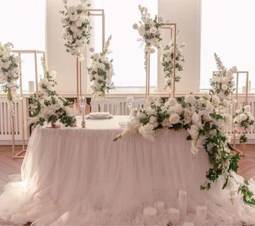 Свадебное оформление, президиум, свадебная арка, свадебный декор