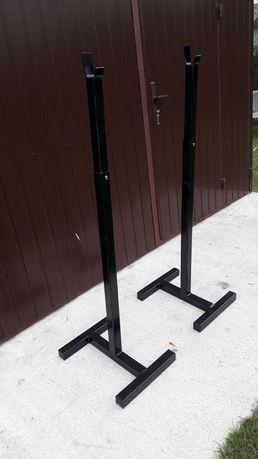 Stojaki pod sztange siłownia stojak fitness