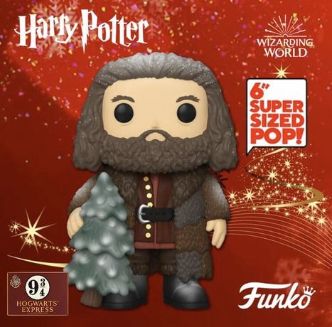 Funko POP! Harry Potter Holiday - Rubeus Hagrid Nr. 126   16cm!!!