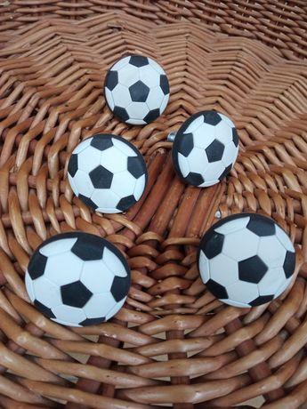 Duże Uchwyty meblowe 5 szt piłka nożna