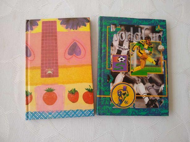 Notesy i książki (w tym po portugalsku)