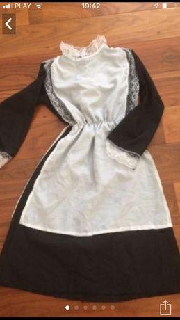 Sukienka przebranie sanitariuszki pokojówki