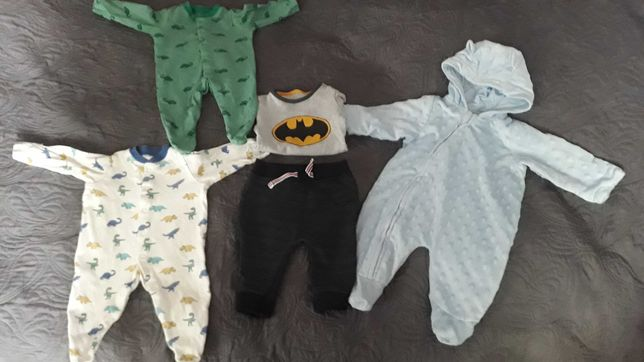 Ubranka dla chłopca 56-62-68